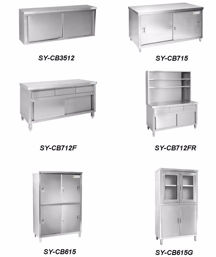 Stainless Steel Kitchen Cabinets Price: 2017 New Model Cheap Stainless Steel Kitchen Wall Hanging