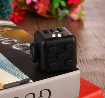 2017 New Christmas Gift 6-Side Anxiety Attention Stress Relief Fidget Cube desk <strong>toy</strong> fidget cube Best Gift for children adults