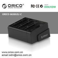 ORICO 6638USJ-C 3 bay 2.5''/3.5'' HDD Docking Station