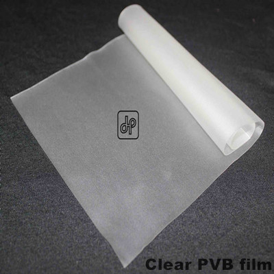 High quality plastics clear PVB film for laminated glass sheet