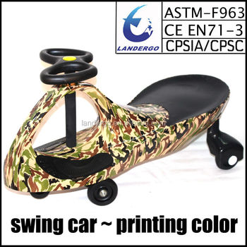 ce approved new kids plasma car swing ride on toy car