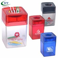 Company Magnetic Paper Clip Dispenser Large