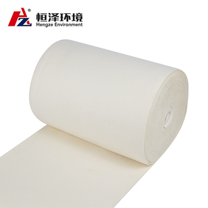 High Temperature Non-woven Needle Felt PPS Dust Filter Cloth/Fabric With PTFE Membrane For Air Filter Collector