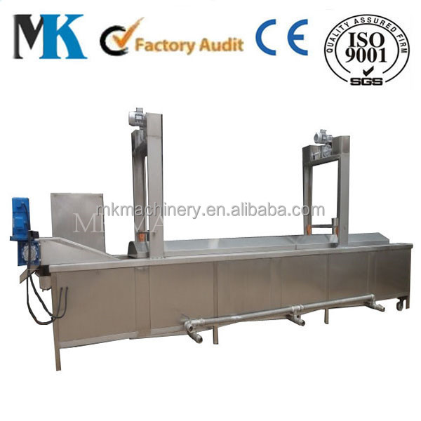 manufacture commercial industrial automatic electric / gas conveyor fryer