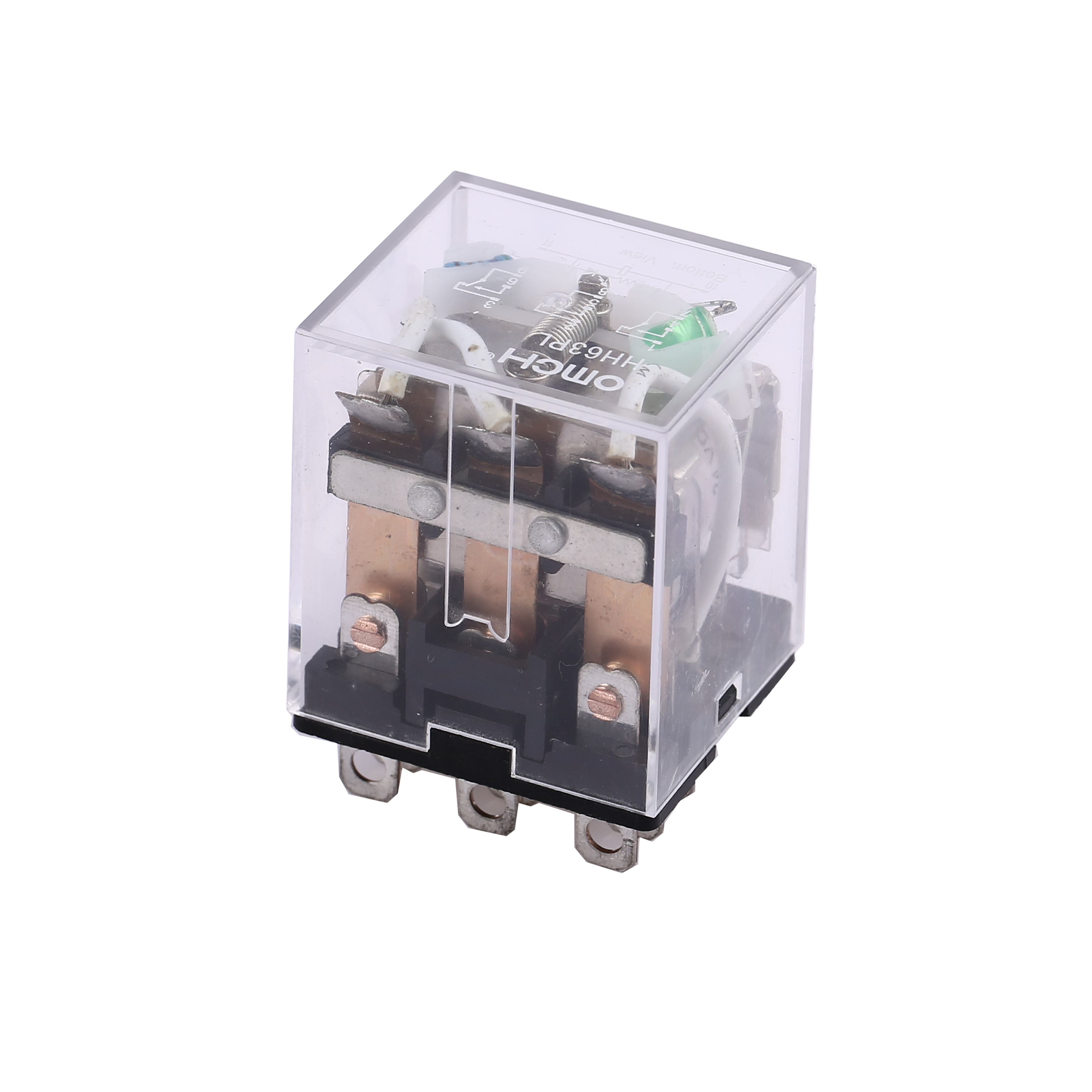 Hh63pl Ac Dc Mini Electric Relay Buy Safety Relaysafety Electronic Relayrelay Product On