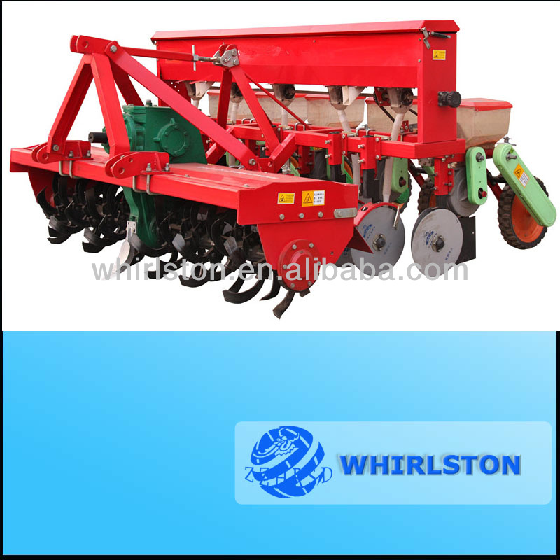 2016 hot sale ! Tiller seeder/Small tractor Corn seeder with Rotary tilling and Fertilizing 008613733199089