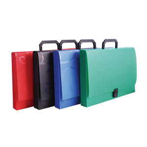 Factory supply attractive price A4 plastic file box with handle