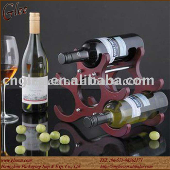 Mini Display Rack 6 Bottles Wooden Wine Rack Buy Display Rack6