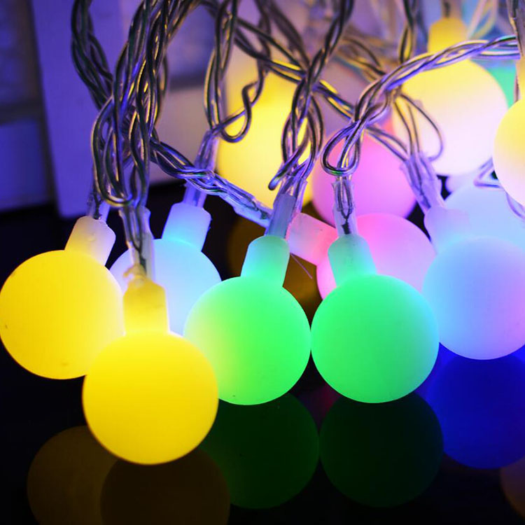 ALIEN 10M 100LED Ball String Lights With 24V Safe Low Voltage Transformer