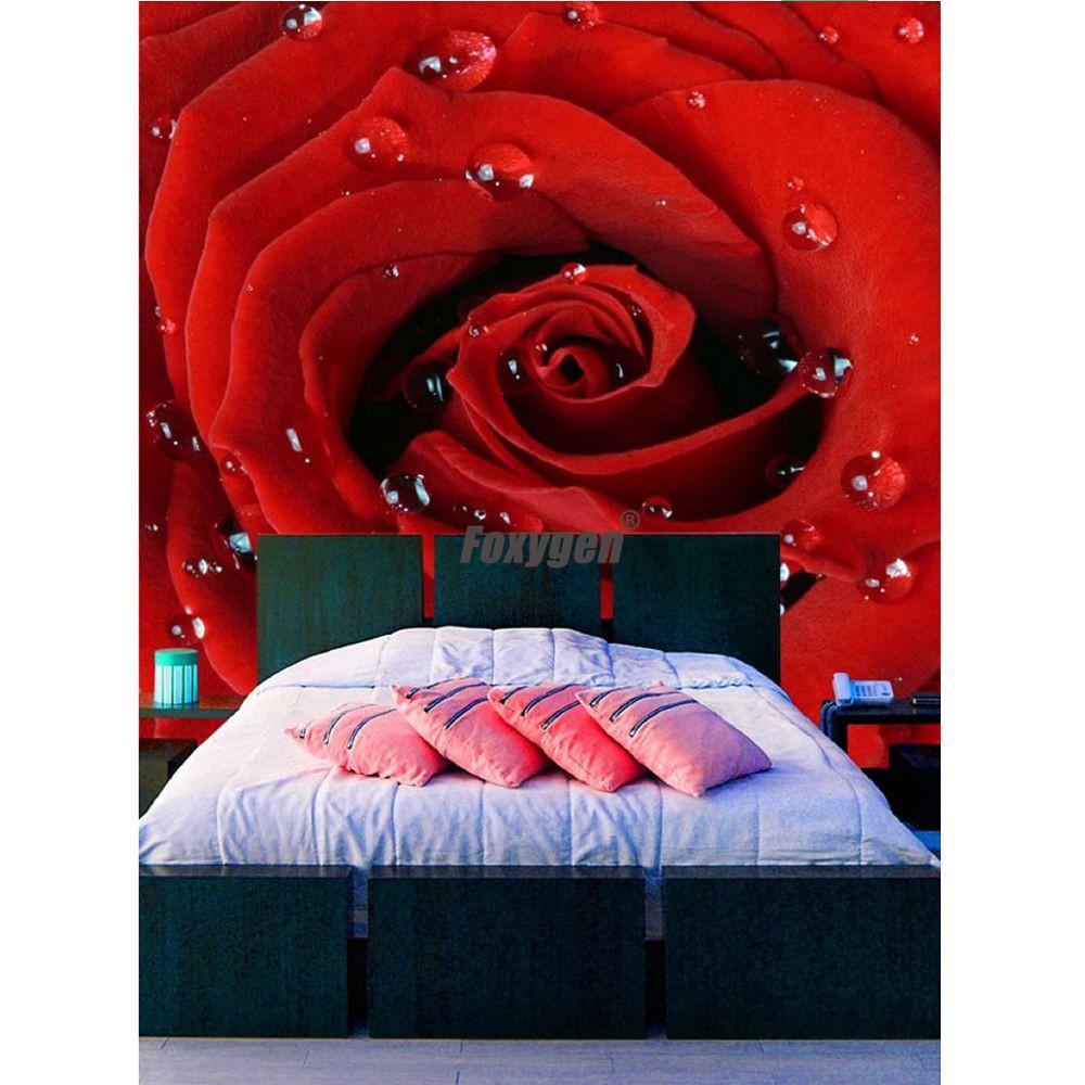 Grosir Pernikahan Kamar Tidur Alam Yang Indah Mawar Merah Desain Bunga Wallpaper Dinding Dekorasi Buy Red Rose Bunga Wallpaper Rose Desain Dinding Dekorasi Dekorasi Pernikahan Kamar Tidur Bunga Product On Alibaba Com