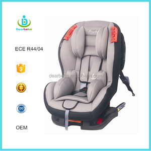 ISOFIX Car Seats Group 1+2( 9-25kg) with ECE R44/04 Certification Forward Facing Children Safety Car Seats 5 Reclining Positon