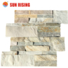 Golden Honey Cultural Stone Panel for Wall Cladding Stone