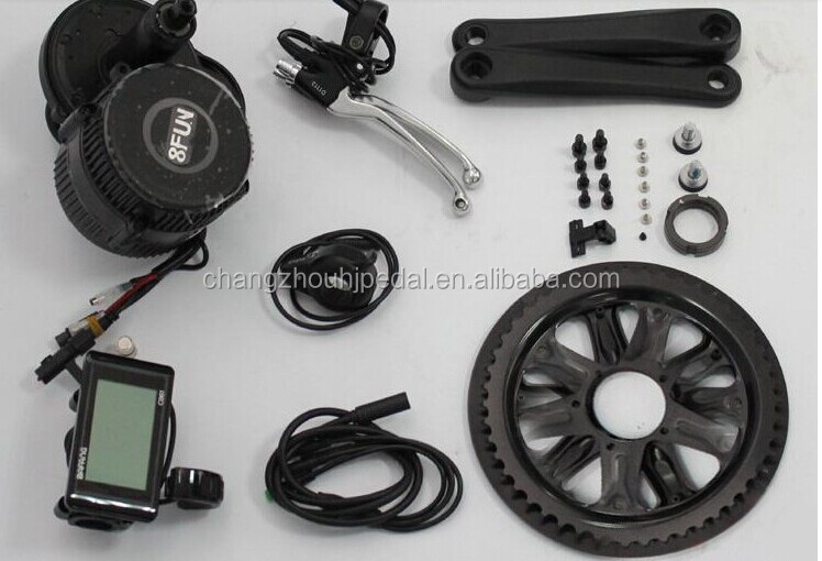 Bafang Bafun Mid Crank Motor Electric Bike Kits 8fun Bbs 02 48v