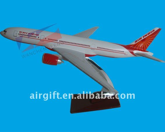 GOOD QUALITY BOEING B777 AIR INDIA SCALE MODEL PLANE MODEL AIRPLEN