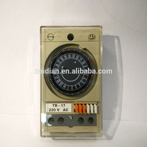 High quality TB17 220V SPDT 50/60HZ Timer Switch