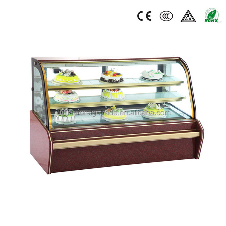 CHEERING refrigeration manufacturers air cooling cold cake show case from china with oem available
