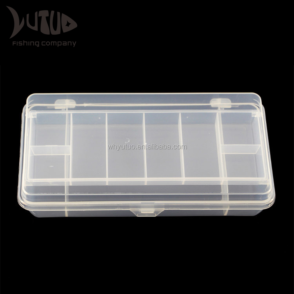 2 Layers Quality Portable Plastic Fishing Tackle Box Outdoor Fishing Lure Tool Box