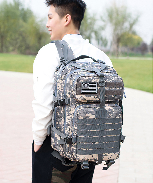 Outdoor Multifunctional bag Backpack Trekking dry Bag camouflage Tactical