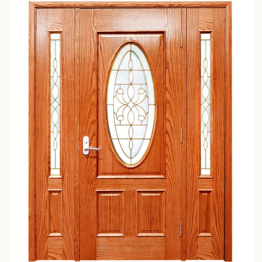 Door wooden solid internal wooden doors for Simple wooden front door designs