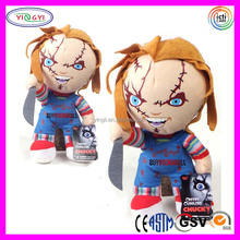 A896 Halloween Vintage Doll Talking Mega Stuffed Chucky Doll Childs Play