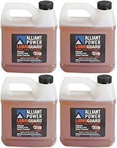 Alliant Power LUBRIGUARD Diesel Fuel Treatment - 4 Pack of 1/2 Gallons # AP0511