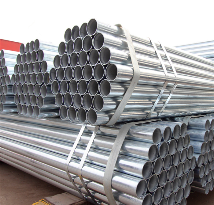 EN10241 BS swaged end 60mm diameter galvanized steel pipe