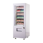 combo vending machine with refrigerator spiral vending machine drink vending machine