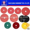 High efficiency wet hybrid diamond polishing pads for sale