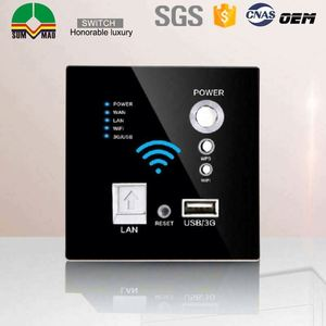 12V DC touch switch RS485 Modbus Protocol smart Hotel Room Control System wireless wifi