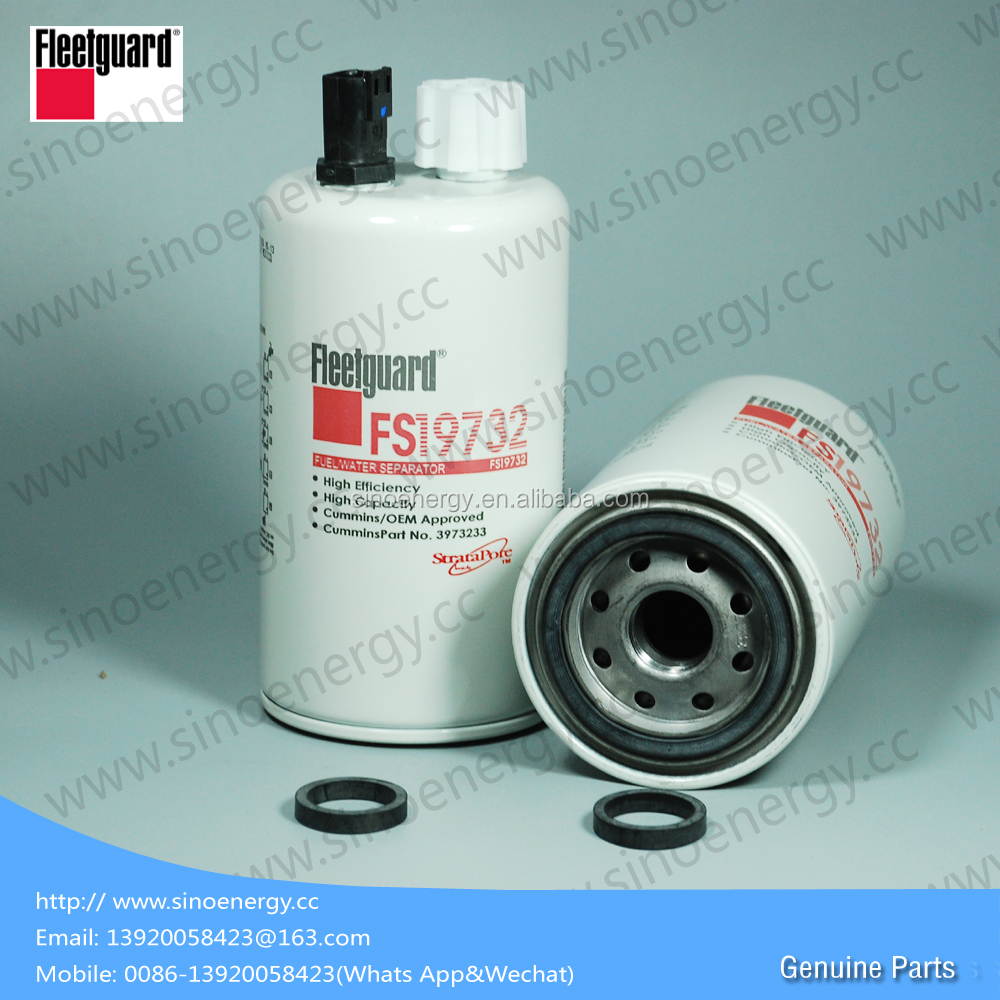 Genuine Fleetguard Filters Fuel Filter FS19732 Engine parts Excavator parts  Truck Parts Fuel Filter FS19732