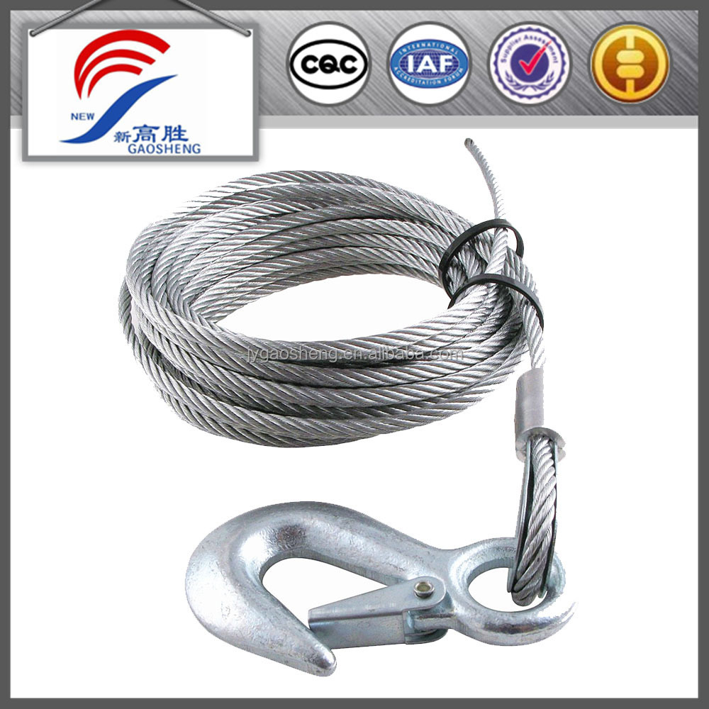 Steel Trailer Rope Towing Cable Tow Rope - Buy Tow Rope,Trailer Rope ...