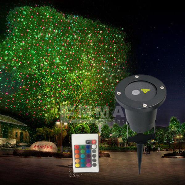 Laser Lights Outdoor Part - 32: Red And Blue Dynamicwaterproof Laser Light/outdoor Garden Laser Light/elf  Lights