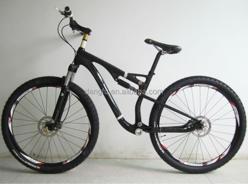 Chinese Carbon 29er Full Suspension Mtb Bicycle Frame,Full ...