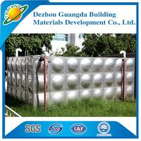 high quality Domestic water supply equipment square water tanks Factory outlets stainless steel water tank