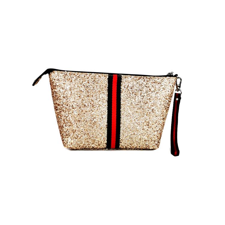 2019 पु चमड़ा मेकअप बैग कॉस्मेटिक बैग पीवीसी महिला थोक कॉस्मेटिक बैग मामलों मेकअप