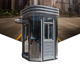 Galvanized steel guard house outdoor kiosk booth