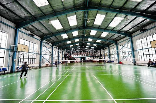 Steel Structure Metal Space Frame Basketball Court Shed