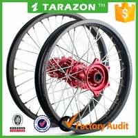 Custom made 19 21 inch front rear motorcycle wheels for Honda crf 250
