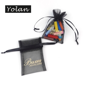 specialize printed logo organza bags organza gift bags