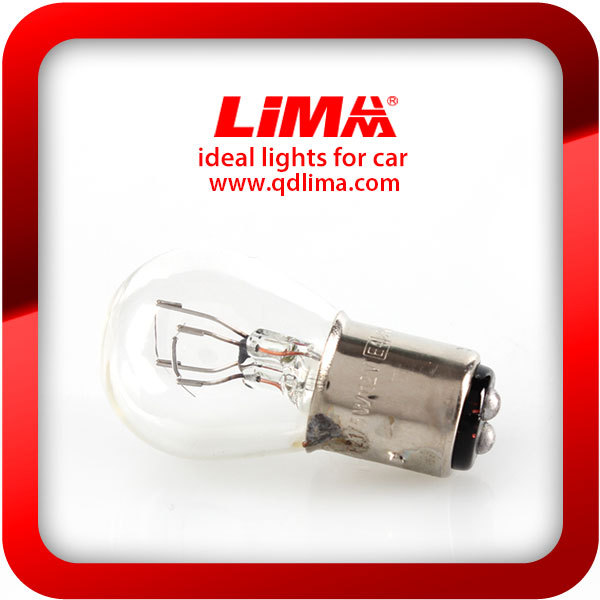 S25 clear tail lamp