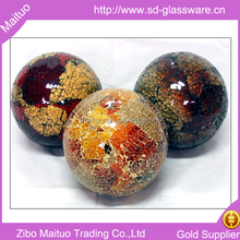 colored glass mosaic balls for decorating