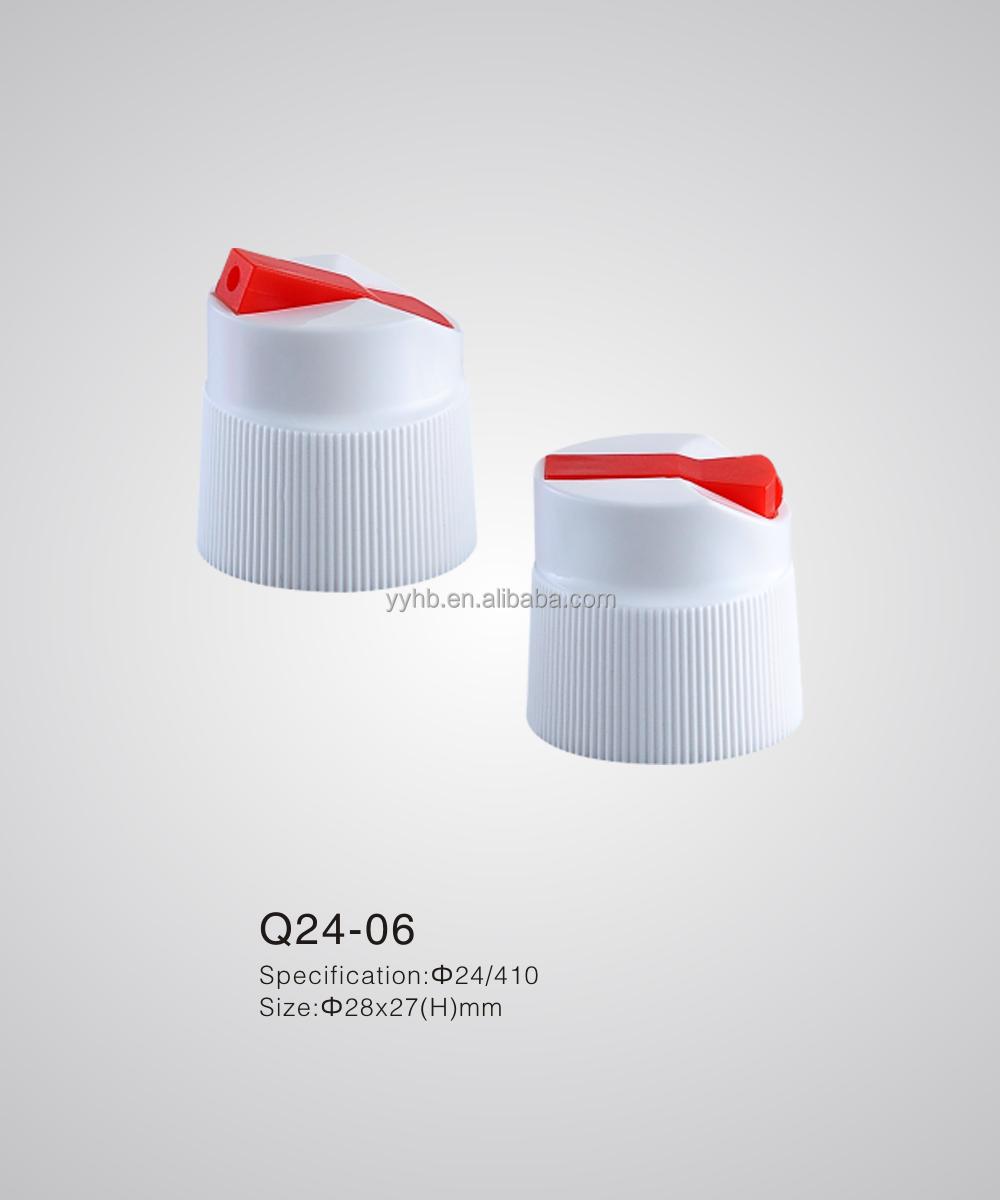 Toilet Cleaner Cap Plastic Bottle Cap 24mm Spout Cap