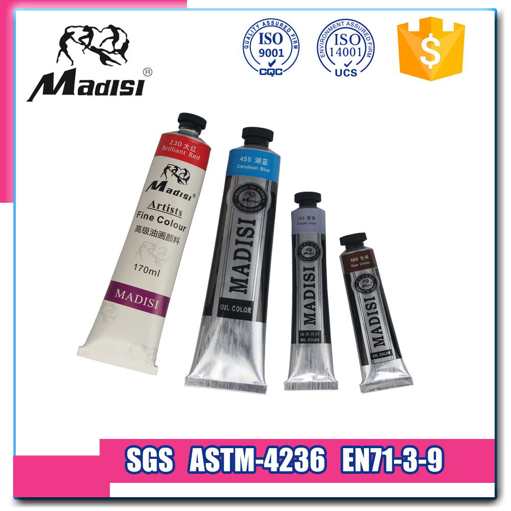 china supplier manufactory 40ml Oil maries color for Artists
