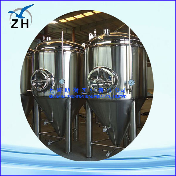 stainless steel high quality beer brewery fermenting tanks
