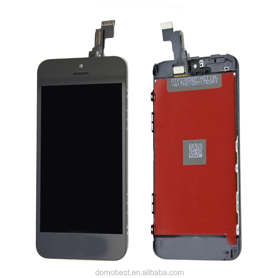 Mobile phone Display for Iphone 5C ,lcd touch with frame ,ShenChao Version suitable for 5S