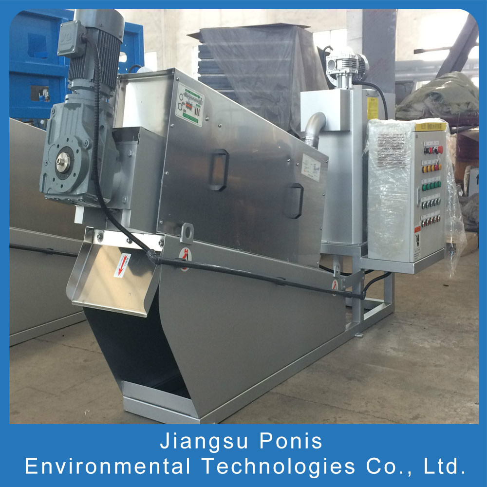 JSPONIS Screw Sludge Dewatering Machine for Sale