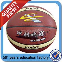 customized official size & weight promotional rubber basketball