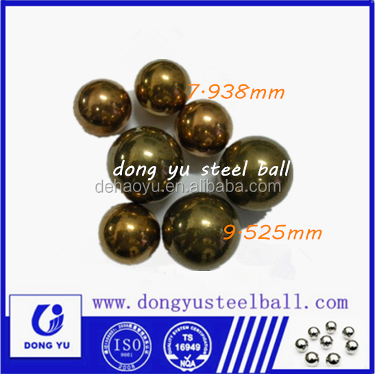 7.938 mm electroplating copper Soft light carbon steel ball g200