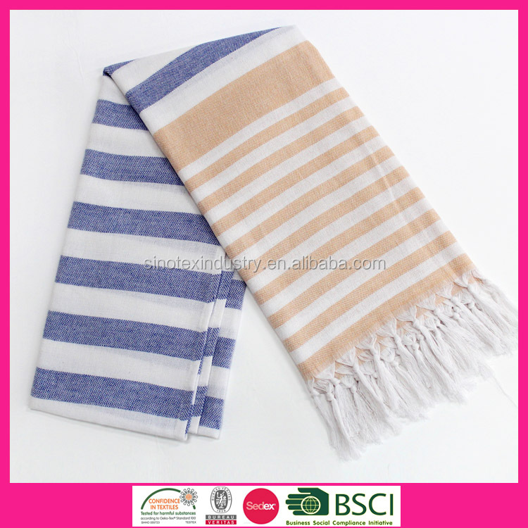 100% Cotton woven quick-dry thin spa body wrap turkish towel