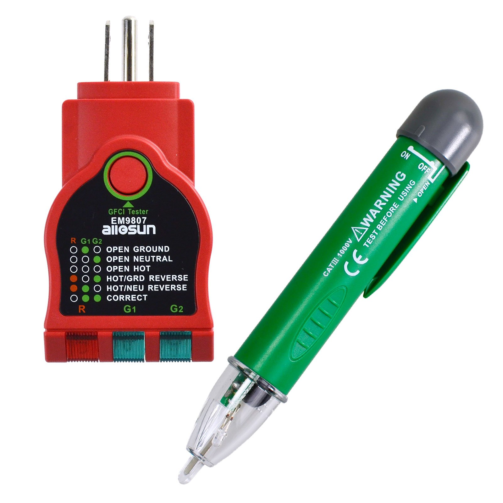 Cheap Safety Tester Find Deals On Line At Alibabacom Gardner Bender Circuit Alert Noncontact Voltage Detector Gvd3504 Get Quotations All Sun Gk7 Non Contact Gfci Outlet Kit